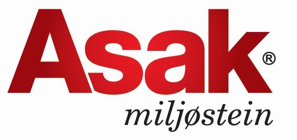 Logo for Asak miljøstein